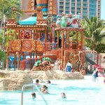 Water park area for kids