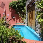 Sweet pool scene