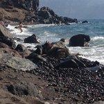 une des plages d'oia!