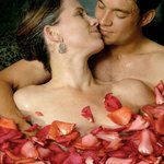 Imagine a romantic rose petal bath at our Absolute Nirvana Spa