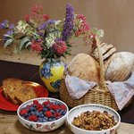 Enjoy natural, local and organic breakfast foods