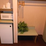 Microwave & Refridgerator In Each Room