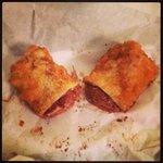 Deep fried Mars Bar! YUM