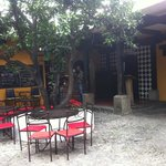 Ground floor courtyard