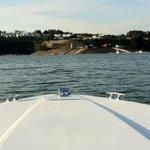 Resort no passeio de barco