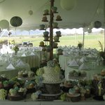 An Autumn Wedding we catered at a Lewisburg Farm...for 300 Guest