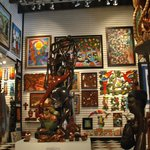 Paintings and carvings