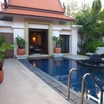 view over pool - villa 838