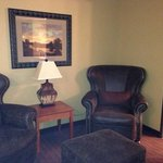 king room-sitting area, amazing chairs