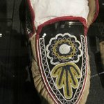 The woman who did this esquisite bead work did not have the benefit of close up glasses or a lig