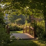 Our footbridge leads to pure serenity