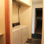 Guest Hosue full size washer/dryer