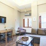 Living room of Akana Suite #2