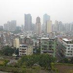 Вид со смотровой площадки на город