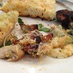 Inside the Chicken & Avocado Foccacia