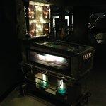 Pinball machine with semi naked women