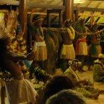 polynesian show at the main restaurant