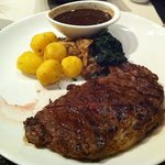 Steak at Abacus