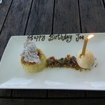 Joe's birthday lunch at Vasse Felix.