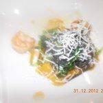 tagliolini neri con alghe di mare