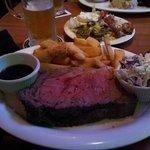 rib steak and steak fries, children's portion?
