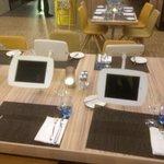 table avec ipad