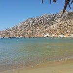 La plage à 50 mètres de l'hôtel, trop dur d'y aller...