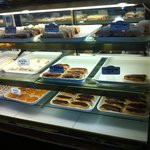 pastries at Mon Delice--try an eclair--yummy