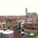 View of Bruges from top of Brewery