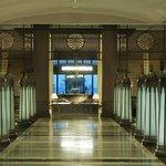 Makadi Spa's hotel lobby entrance