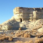 More miner's cave and cliff dwellings near Shoshone
