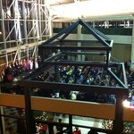 Watched the Klondike Kate Winter Carnival Cabaret from 2nd Floor for free.