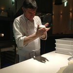 Mauro Peressini, best pizzaiolo in the Island