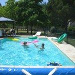 Piscine chauffée / Verwarmd zwembad / Heated swimming pool