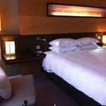 Bed.  Comfy