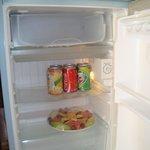 Kühlschrank mit Begrüßungsobst