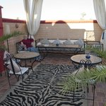 Riad 58 Blu roof terrace