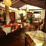 de visita en .bucaramanga, Colombia, Restaurante La Puerta d