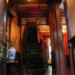 Main stairs.