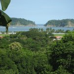 View of Playa Samara from our room/balcony