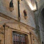 Detalle del interior de la entrada principal
