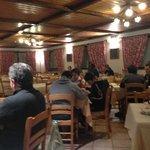 Sala ristorante molto pulita e accogliente!!!