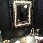 miroir de la salle de bain