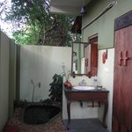 Outdoor Bathroom area