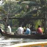 Backwater Scene From Boat Trip