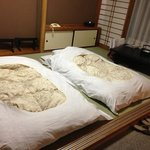 spacious room with two tatami bed