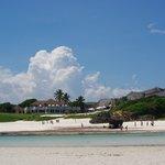 spiaggia difronte al Garoda