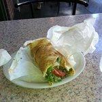 falafel sandwich