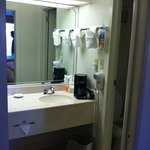 bathroom in our room