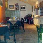 dining room at Naji's...cozy!